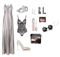 Anastasia Steele - The Masquerade Ball by ohmyfifty on Polyvore