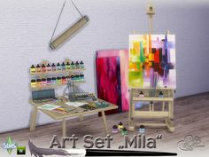 BuffSumm's Mila Art Hobby Set