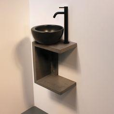 Glass Bathroom Sink, Cozy Bathroom, Bathroom Vanity Units, Stone Bathroom, Scandinavian Bathroom, Bathroom Tile Designs, Bathroom Design Luxury, Plaster Ceiling Design, Bath Kit