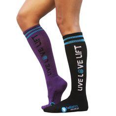 Ordered and on the way!!! Knee High CrossFit Socks 2.0 (Plum or Black) by Fashletics | Fashletics