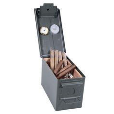 Cheap Humidors Ammo Can Cigar Humidor [ Wainscotingamerica.com ] #Mancave #wainscoting #design