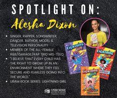 Alesha Dixon - Black Authors from Usborne Books & More – Jaime's Book Corner Alesha Dixon, How To Read Faster, Black Authors, Book Corners, Book Girl, Funny Art, Worlds Of Fun, Nonfiction Books, Little Sisters