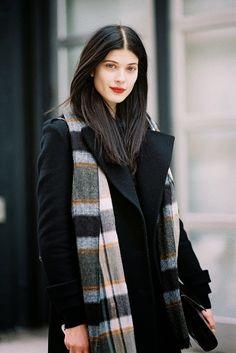 PIĘKNAAAA! Vanessa Jackman: New York Fashion Week AW 2014....Larissa