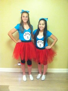 DIY Loser Costume. Like Thing 1 and Thing 2 but customized to make it whatever you and your best friend call each other!