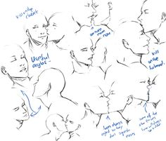 kissing pose practice
