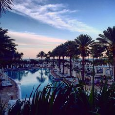 Sunset & Sushi @fontainebleau  Miami by thesartorialist