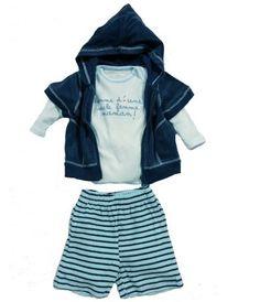 vetement habit original pour bebe garcon : vetement bébé en éponge très confortable