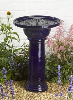 Smart Solar Ravenna Bird Bath Fountain Water Feature (H61cm) £74.99