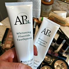 AP24 Nu Skin Toothpaste Review on We've Tried It. Check out the before and after pictures. I am on my second tube, I love this stuff!