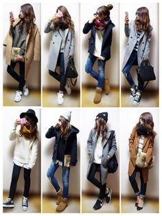 Super Fashion Fall Winter Outfits 46 Ideas in 2020 Winter Mode Outfits, Winter Fashion Outfits, Look Fashion, Korean Fashion, Fall Outfits, Womens Fashion, Fashion Fall, Ladies Fashion, Simply Fashion