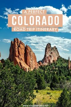 A road trip around Colorado is always a great idea, so I decided to round up a list of 21 of the most scenic Colorado road trip stops that must be in your itinerary! #Colorado