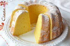 przepis na babkę serową Polish Desserts, Polish Recipes, Different Cakes, Pumpkin Cheesecake, Holiday Desserts, Coffee Cake, Cake Cookies, Sweet Recipes, Sweet Treats