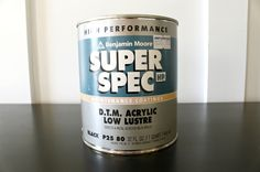 How I paint furniture (Update)  by Jar Girl......Benjamin Moore Super Spec.jpg