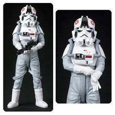 BLOG DOS BRINQUEDOS: Star Wars AT-AT Driver ArtFX+ Statue
