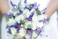 Bridal flower bouquet with Lavender