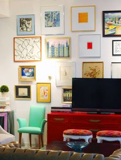 Get The Look: Designing Around Your Flat Screen TV