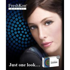 Freshkon Mosaic cosmetic Color contact lenses