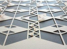 Geometric Paper Cut