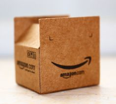 BJD Accessories Mini Cardboard Box  For International Parcel  1/12 Dollhouse Miniature Furniture