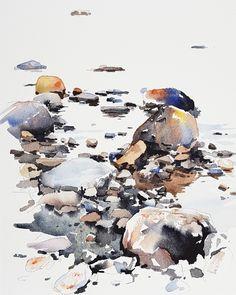 Elisabeth Biström watercolor Watercolors, Bird, Animals, Instagram, Water Colors, Animales, Animaux, Birds, Watercolor Paintings
