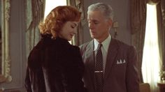 Joan Holloway and Roger Sterling