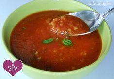 Olasz paradicsomleves - Bulgurral - Szilvi ÍzVilág Mexican, Ethnic Recipes, Soups, Diet, Bulgur, Soup, Mexicans