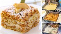 Sicher kennt ihr die leckeren Apfelkuchen mit Pudding. Das hier ist ein Rezept für einen einfachen, aber sehr leckeren Apfelkuchen.