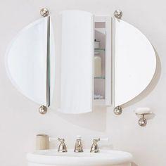 Bathroom Mirror Holders diy pivot mirror mounting bracket | powder room reno | pinterest