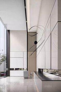 Lobby Interior, Office Interior Design, Interior Architecture, Corporate Interiors, Office Interiors, Foyers, Ceiling Design, Wall Design, Lounge Design