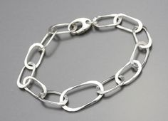 Hey, I found this really awesome Etsy listing at http://www.etsy.com/listing/165696194/handmade-sterling-silver-chain-bracelet
