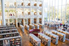 Malmö City Library | 25 European Libraries All Book Lovers Will Want To Visit