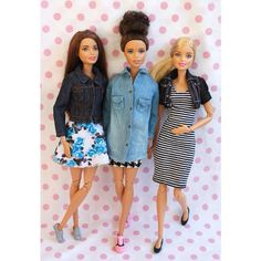 Made to Move Barbie dolls in casual outfits.  http://puppet-master.com - THE VENTRILOQUIST ASSISTANT