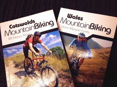 Tom Fenton and Tom Hutton Mountain bike guide books for Cotswolds and Wales...