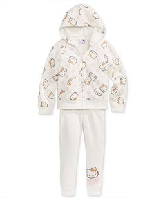 Hello Kitty 2-Pc. Jogger Set, Little Girls (2-6X) - Sets & Outfits - Kids & Baby - Macy's