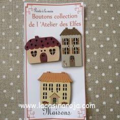 Botones colección ADE  Maisons 01