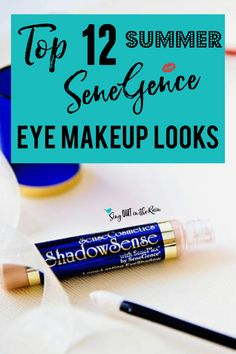 Get the perfect Summer eye looks using SeneGence ShadowSense trios with these graphics.  Your next favorite eyeshadow combinations are inside!!  Best makeup colors ideas for all summer long.  #summer #shadowsense #senegence #eyeshadow #shadowsensetrios