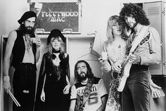 see Fleetwood Mac in concert during their early years