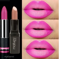 Ombre lips for the day