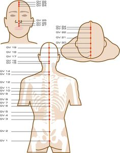 Governing Vessel Acupuncture Points