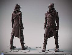 Cyberpunk fashion — Компьютерная графика и анимация — Render.ru