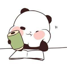Chibi Panda, Chibi Kawaii, Chibi Cat, Kawaii Doodles, Cute Doodles, Cute Chibi, Wallpaper Panda, Panda Wallpapers, Cute Cartoon Wallpapers