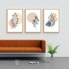 Wall Art Sets, Diy Wall Art, Wall Art Decor, Wall Art Prints, Painted Wall Art, Wall Art For Bedroom, Cool Wall Art, Wall Decorations, Botanical Wall Art