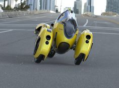 The Italian designer blending the past and future This is a tilt-wheeled design called Nemo Weird Cars, Cool Cars, Dirt Bikes For Sale, Roadster Car, Solar Car, Concept Motorcycles, Reverse Trike, E Scooter, Pedal Cars