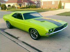 Dodge Challenger - 1972 Challenger Rt, Dodge Srt, Hot Cars, Mopar, Muscle Cars, Dream Cars, Old School, Building, Madness