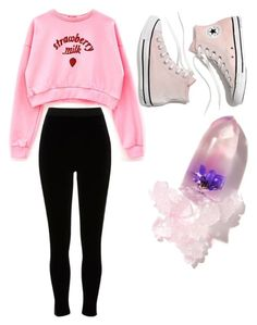 """""""School outfit 4"""" by idontcarelollolo ❤ liked on Polyvore featuring River Island, Madewell and Winky Lux"""