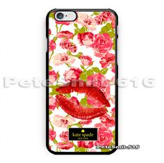 New kate spade lips patern floral custom design Phone case For iPhone6/6s plus | eBay