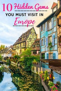 The hidden gems in Europe I'm about to share with you are some of my all-time favourite European destinations. A more intimate travel experience awaits! | Every Footstep an Adventure