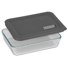 Pyrex No Leak Lids 3 Cup Rectangle Baking Dish with Plastic Lid * For more information, visit image link.