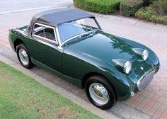 1961 Austin Healy bug eye sprite.