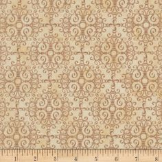 Timeless Treasures Jewel of the Garden Ironwork Beige from @fabricdotcom  Designed by Dona Gelsinger for Timeless Treasures, this cotton print fabric is perfect for quilting, apparel and home decor accents. Colors include beige, tan, and cream.